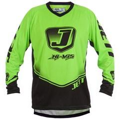 Camisa Motocross Jett Hi-Vis Verde Neon
