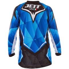 Camisa Motocross Jett Lite Azul