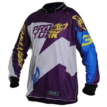 07385639b41fd Camisa Motocross Pro Tork Balbi Roxo - Sportbay