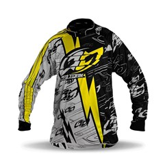 Camisa Motocross Pro Tork Eletric Amarelo