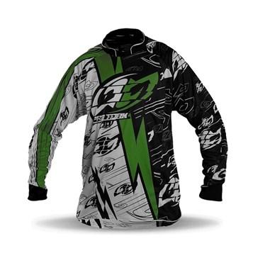 e018f1c36bc06 Camisa Motocross Pro Tork Eletric Verde - Sportbay