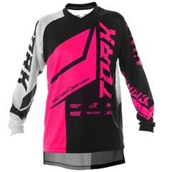 Camisa Motocross Pro Tork Factory Edition Neon Pink