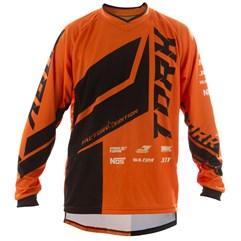 Camisa Motocross Pro Tork Factory Edition Preto/Laranja