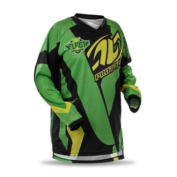Camisa Motocross Pro Tork Fleet Verde/Preto