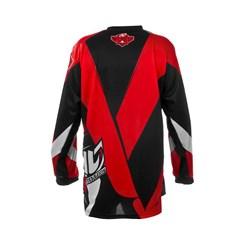 Camisa Motocross Pro Tork Fleet Vermelho/Preto