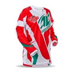 Camisa Motocross Pro Tork Fleet Vermelho/Verde