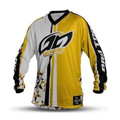 Camisa Motocross Pro Tork Geometric Amarelo
