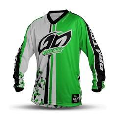 Camisa Motocross Pro Tork Geometric Verde