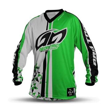 604f0c6a85c08 Camisa Motocross Pro Tork Geometric Verde - Sportbay