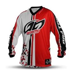 Camisa Motocross Pro Tork Geometric Vermelho
