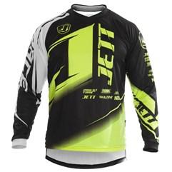 Camisa Motocross Pro Tork Jett Factory Edition Amarelo Neon