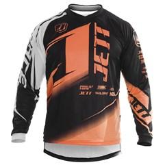 Camisa Motocross Pro Tork Jett Factory Edition Laranja Neon