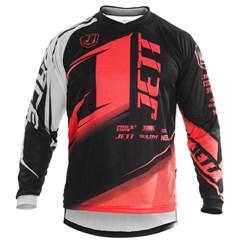 Camisa Motocross Pro Tork Jett Factory Edition Neon Blood Red