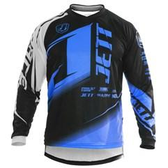 Camisa Motocross Pro Tork Jett Factory Edition Neon Miami Blue