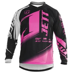 Camisa Motocross Pro Tork Jett Factory Edition Pink Neon
