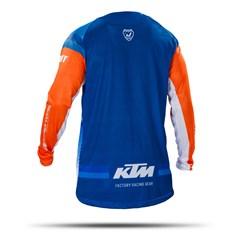 Camisa Motocross Pro Tork KTM Factory Edition Laranja