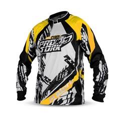 Camisa Motocross Pro Tork PS788 Amarelo