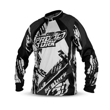 52f1df7c26e8c Camisa Motocross Pro Tork PS788 Preto - Sportbay