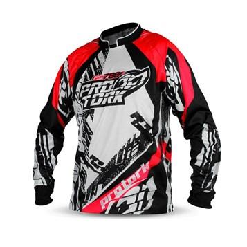 Camisa Motocross Pro Tork PS788 Vermelho