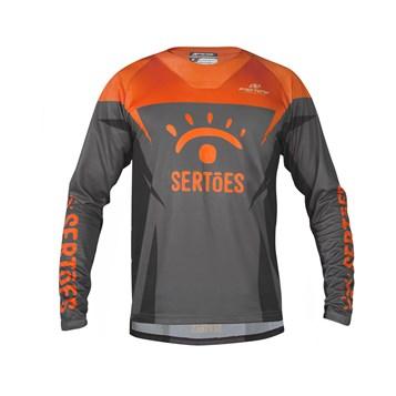 Camisa Motocross Pro Tork Rally dos Sertões Grafite - Laranja