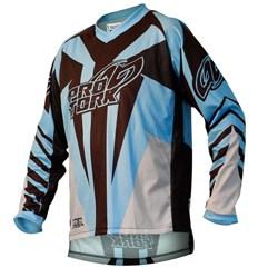 Camisa Motocross Pro Tork Viber Cyano