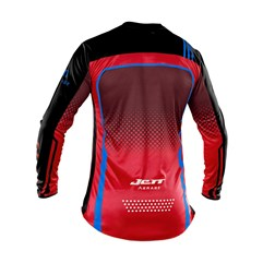 Camisa Motocross Trilha Enduro Jett Armage Vermelho - Preto