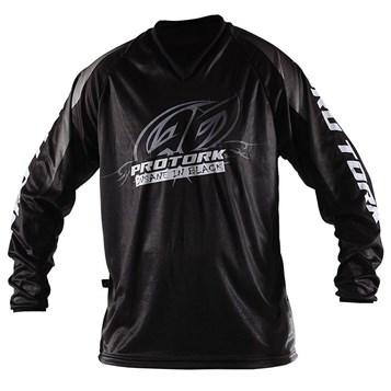 Camisa Motocross Trilha Enduro - Pro Tork Insane In Black