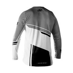 Camisa Motocross Trilha Enduro Pro Tork Sag Cinza - Preto