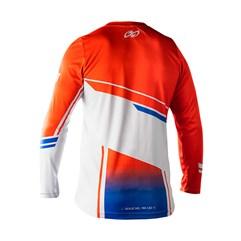 Camisa Motocross Trilha Enduro Pro Tork Sag Laranja - Azul