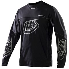 Camisa Motocross Troy Lee Adventure Preto