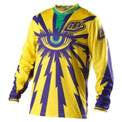 Camisa Motocross Troy Lee Cyclops Amarelo