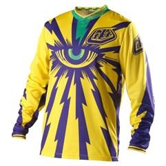 Camisa Motocross Troy Lee Cyclops Amarelo