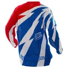 Camisa Motocross Troy Lee Cyclops Azul/Branco