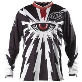 Camisa Motocross Troy Lee Cyclops Preto/Vermelho