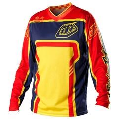Camisa Motocross Troy Lee GP Factory Amarelo