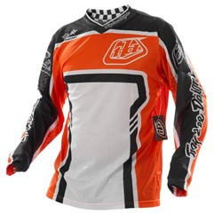Camisa Motocross Troy Lee GP Factory Azul/Laranja