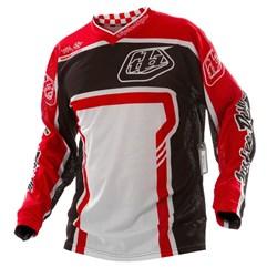 Camisa Motocross Troy Lee GP Factory Preto/Vermelho