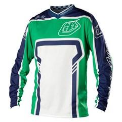 Camisa Motocross Troy Lee GP Factory Verde