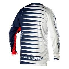 Camisa Motocross Troy Lee GP Joker Navy/Branco