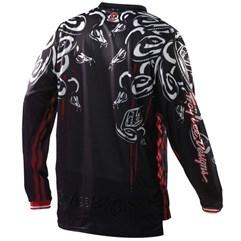 Camisa Motocross Troy Lee GP Medusa Preto/Vermelho