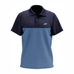 Camisa Polo Casual Pro Tork Duo Azul