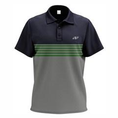 Camisa Polo Esp. Casual Pro Tork Polo Stripes Azul Marinho