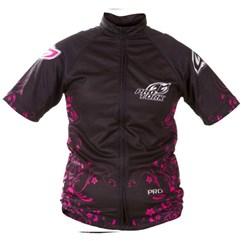 67f2265ab3af9 Camisa Pro Tork Bike Line 1 Girls Pink Preto ...