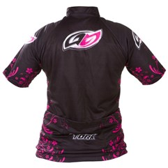 Camisa Pro Tork Bike Line 1 Girls Pink/Preto