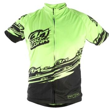 f11faab4b7244 Camisa Pro Tork Bike Line 1 HI-VIS Verde - Sportbay