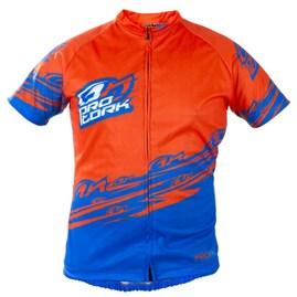 Camisa Pro Tork Bike Line 1 Laranja/Azul