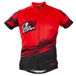 Camisa Pro Tork Bike Line 1 Vermelho/Preto