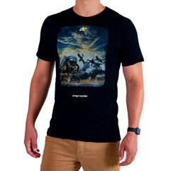 Camiseta Casual Pro Tork Adventure Team Preto