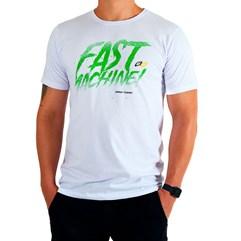 Camiseta Casual Pro Tork Fast Machine Branco