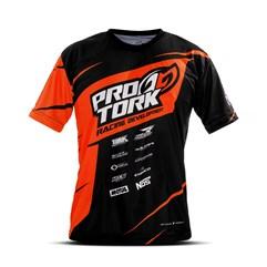 Camiseta Casual Pro Tork Laranja